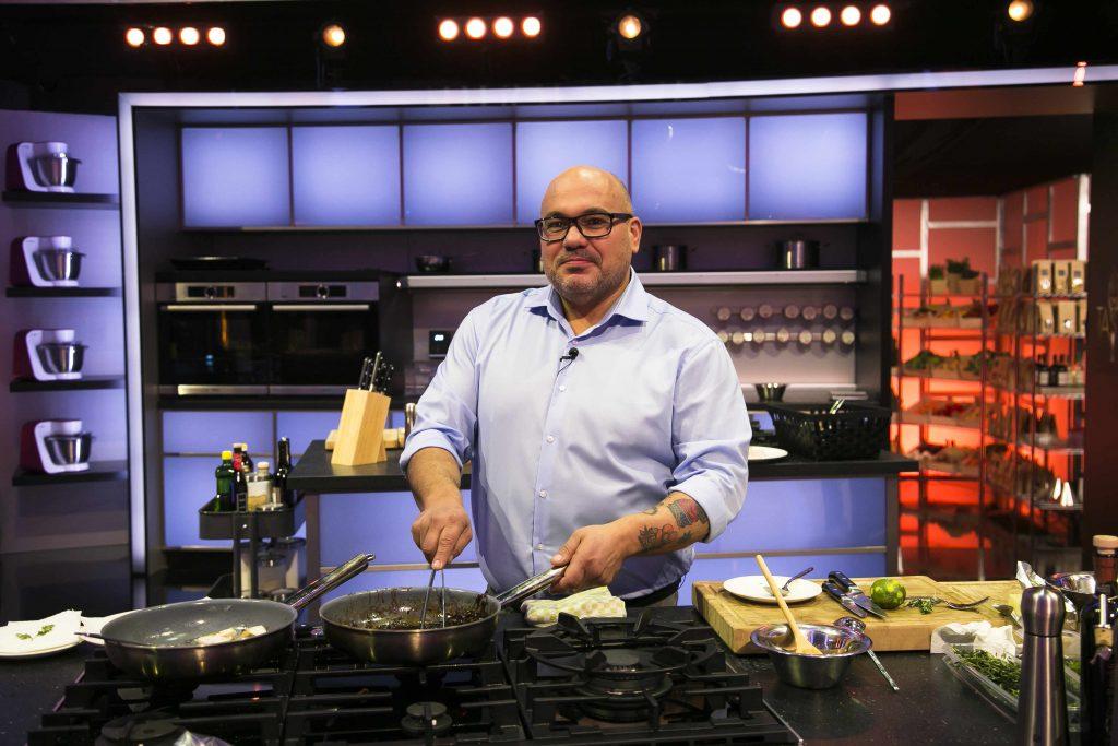 Marco Zingone bei The Taste, Staffel 4 in SAT.1; Foto: © SAT.1/Benedikt Müller